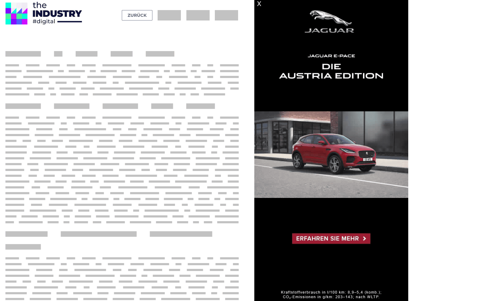 Das Bild zeigt eine Sitebar 360 von Jaguar