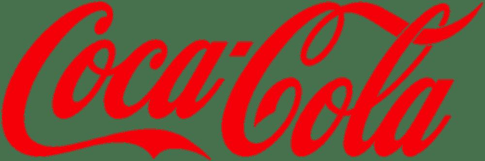 Das Bild zeigt das Logo von Coca-Cola