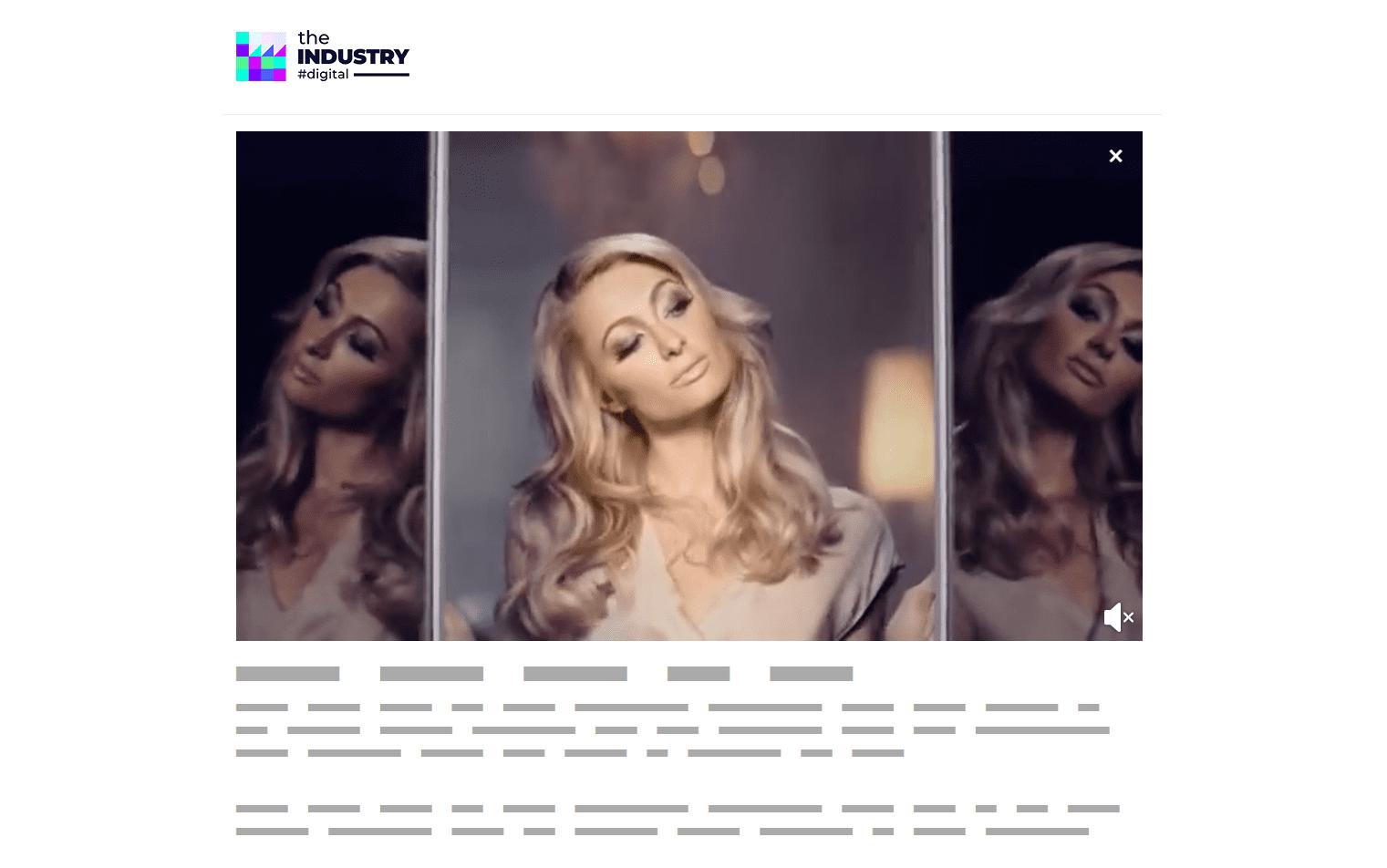 Das Bild zeigt ein Dynamic Video AD von Lidl