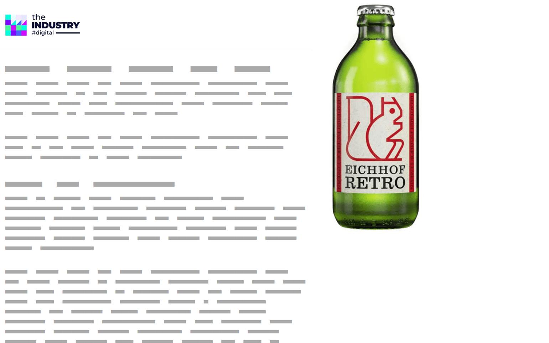 Das Bild zeigt ein Halfpage AD Scroll von Eichhof