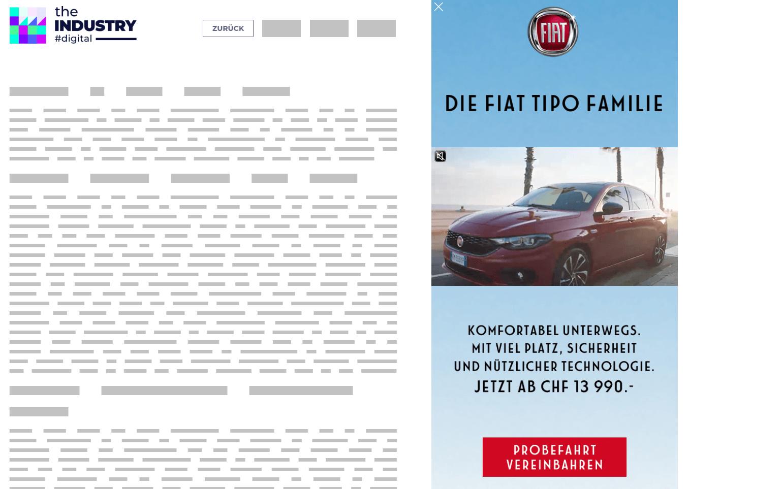 Das Bild zeigt eine Sitebar Response Probefahrt mit Video von FIAT