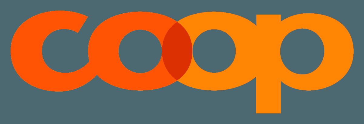 Das Bild zeigt das Logo von Coop