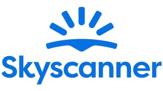 Das Bild zeigt das Logo von Skyscanner