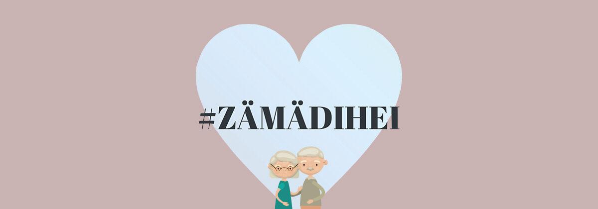 #zämädihei — Gemeinsam Leben retten!