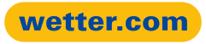 Das Bild zeigt das Logo von wetter.com