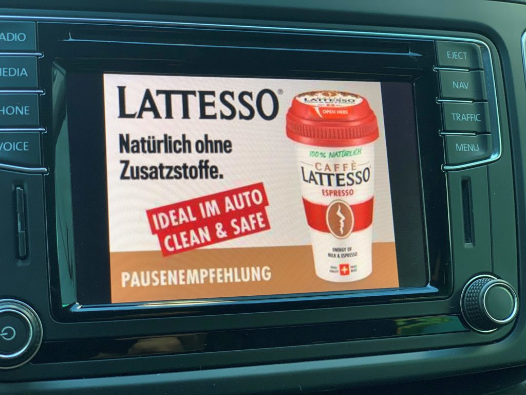 Display Ads Kampagne von Lattesso